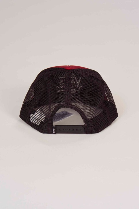 """VANS """"OFF THE WALL"""" Casquettes rouge VN0A31CDTD21_RHUMBA RED img2"""