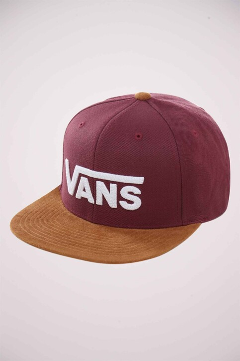 "VANS ""OFF THE WALL"" Casquettes bordeaux VN0A36ORTQV1_PRUNE img1"
