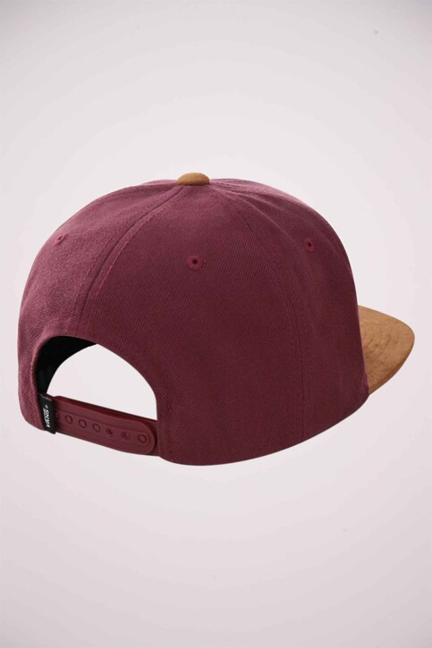 "VANS ""OFF THE WALL"" Casquettes bordeaux VN0A36ORTQV1_PRUNE img2"
