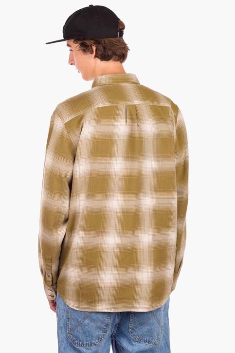 """VANS """"OFF THE WALL"""" Hemden (lange mouwen) beige VN0A3HL3Z9P1_Z9P1 NUTRIA OAT img2"""
