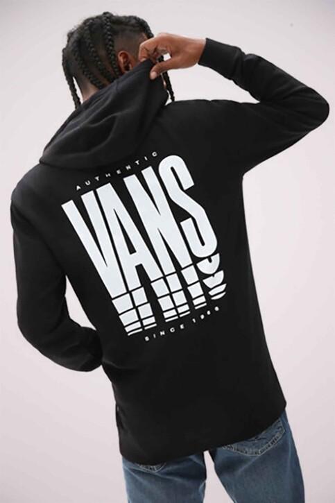 """VANS """"OFF THE WALL"""" Sweaters met kap zwart VN0A54AOBLK1_BLK1 BLACK img1"""