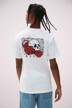 """VANS """"OFF THE WALL"""" T-shirts (manches courtes) blanc VN0A54CVWHT1_WHT1 WHITE img1"""