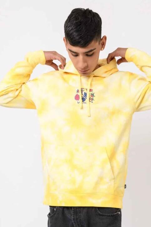 "VANS ""OFF THE WALL"" Sweaters met kap geel VN0A5E69ZDB1_ZDB1 MELLOW YEL img1"