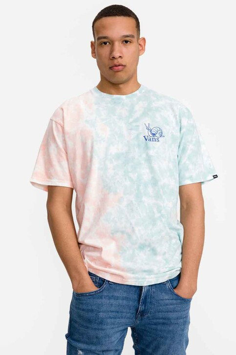 """VANS """"OFF THE WALL"""" T-shirts (korte mouwen) blauw VN0A5E7CZD71_ZD71 CORAL CAME img2"""