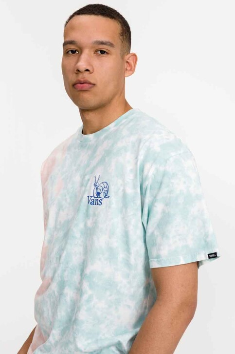 """VANS """"OFF THE WALL"""" T-shirts (korte mouwen) blauw VN0A5E7CZD71_ZD71 CORAL CAME img4"""