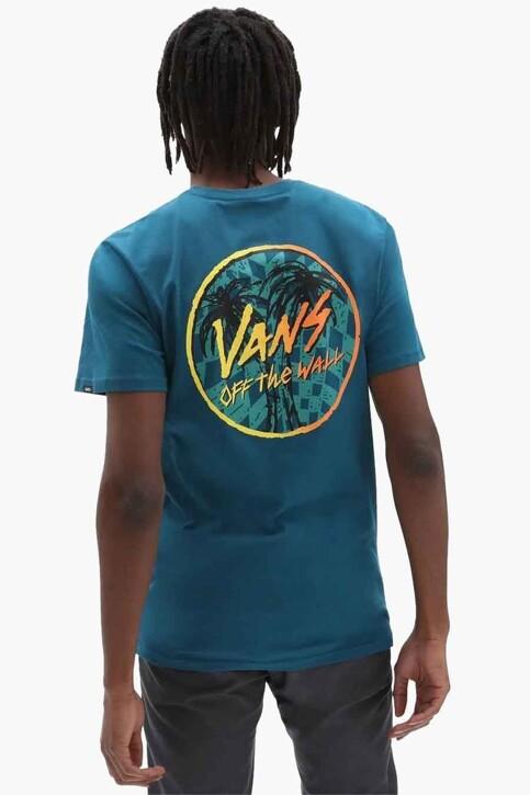 "VANS ""OFF THE WALL"" T-shirts (korte mouwen) blauw VN0A5KCJYAV1_YAV1 BLUE CORAL img1"