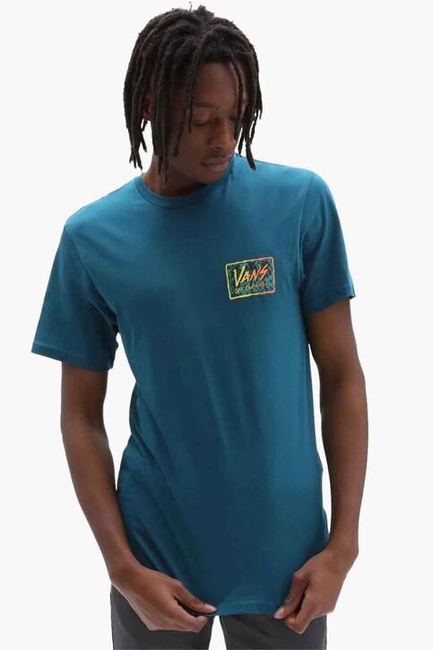"VANS ""OFF THE WALL"" T-shirts (korte mouwen) blauw VN0A5KCJYAV1_YAV1 BLUE CORAL img2"