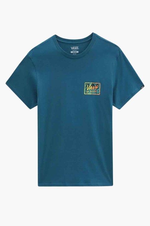 "VANS ""OFF THE WALL"" T-shirts (korte mouwen) blauw VN0A5KCJYAV1_YAV1 BLUE CORAL img3"