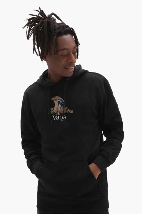 "VANS ""OFF THE WALL"" Sweaters met kap zwart VN0A5KEABLK1_BLK1 BLACK img1"