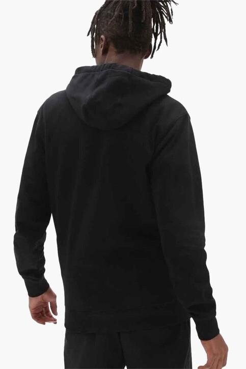 "VANS ""OFF THE WALL"" Sweaters met kap zwart VN0A5KEABLK1_BLK1 BLACK img2"