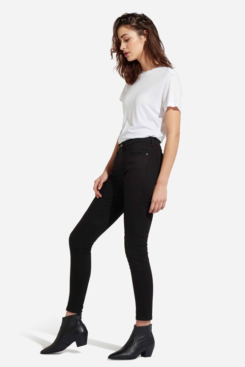 Wrangler® Jeans skinny zwart W27HLX023_RINSE img2