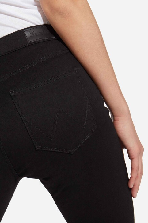 Wrangler® Jeans skinny zwart W27HLX023_RINSE img5