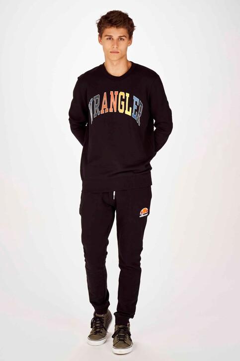 Wrangler® Sweats col O noir W6B6HY100_BLACK img2