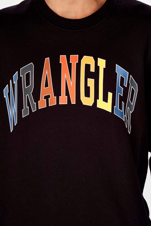 Wrangler® Sweats col O noir W6B6HY100_BLACK img4