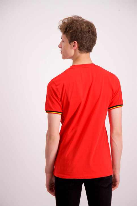 ZEB STYLE LAB T-shirts (korte mouwen) rood WK MEN CREST S18_RED img3